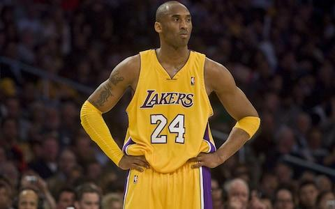 Los Angeles Lakers player Kobe Bryant - Credit: Getty