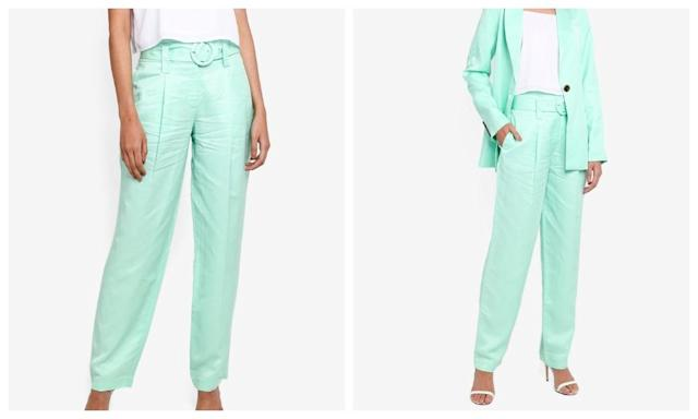Warehouse Mint Trousers