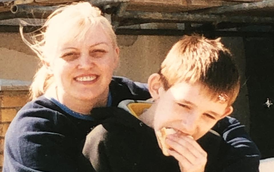 Michelle and JJ McPhillips. JJ was stabbed to death in 2017. The case remains unsolved. (Michelle McPhillips)