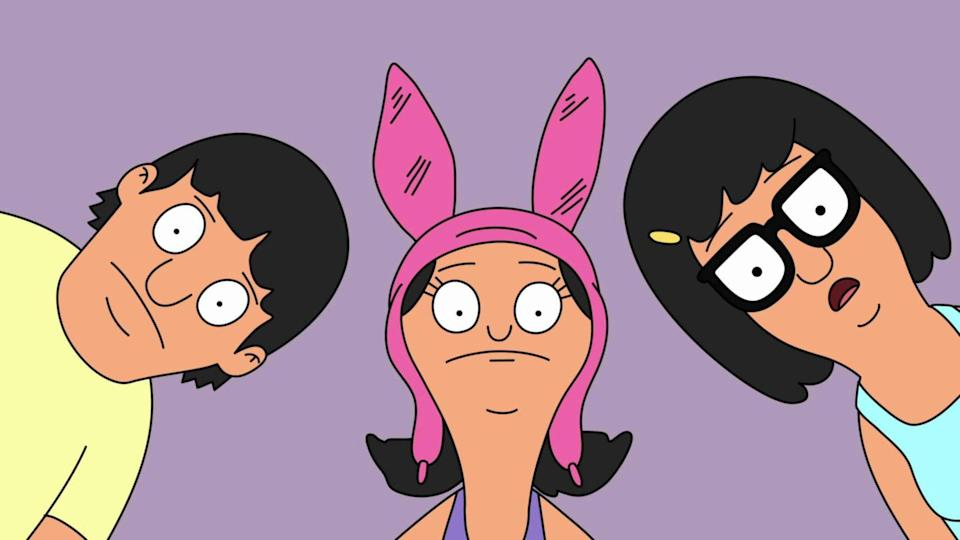 "<p>Everybody's favorite burger-flipping oddball family, the Belchers, are set to make their feature debut in <em>Bob's Burgers: The Movie</em> this year. With a trailer yet-to-be-released and details murky, all we know is the film will feature the original cast in their iconic roles and it's sure to ""scratch every itch the fans of the show have ever had,""<a href=""https://www.vulture.com/2017/10/bobs-burgers-movie-coming-july-2020.html"" rel=""nofollow noopener"" target=""_blank"" data-ylk=""slk:according"" class=""link rapid-noclick-resp""> according</a> to creator Loren Bouchard.</p>"