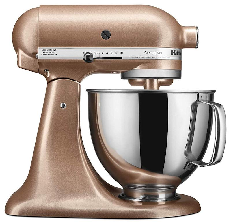 We dare you to resist this KitchenAid in copper-y Toffee Delight. (Photo: Amazon)