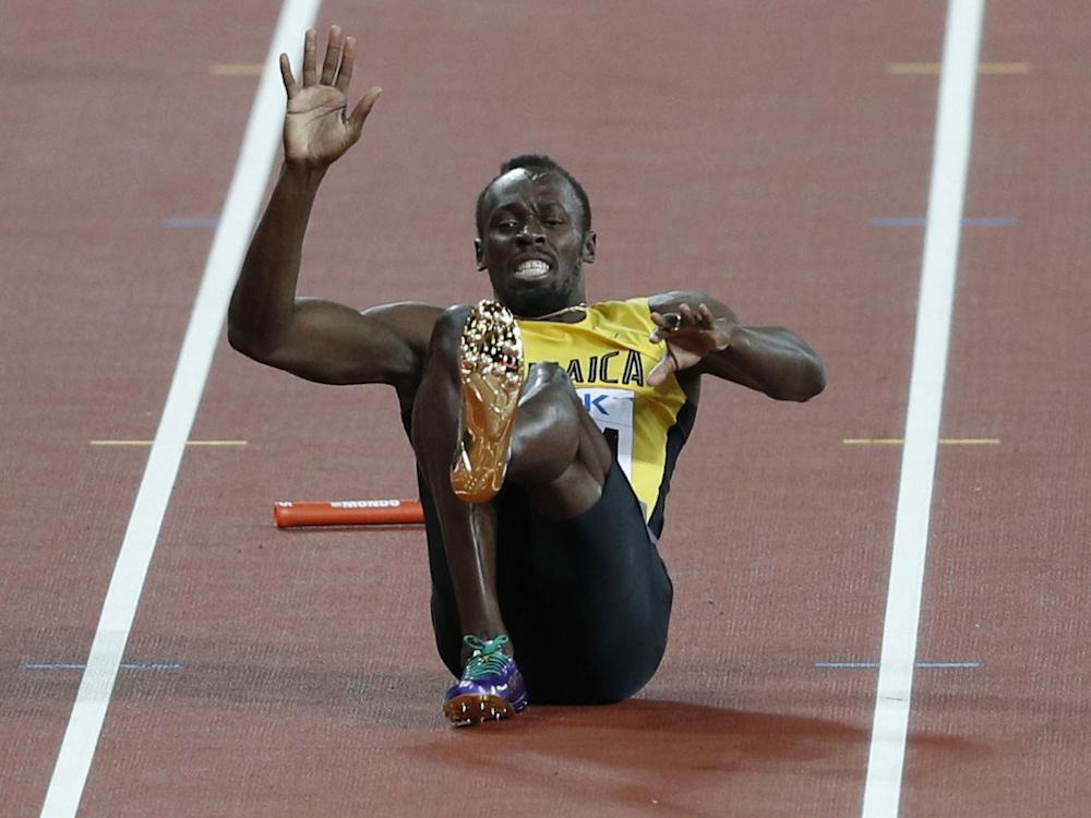 Jamaica failed to finish due to Bolt's injury (Getty)