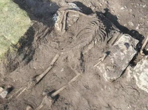 Scene of 1,500-Year-Old Massacre Uncovered in Sweden