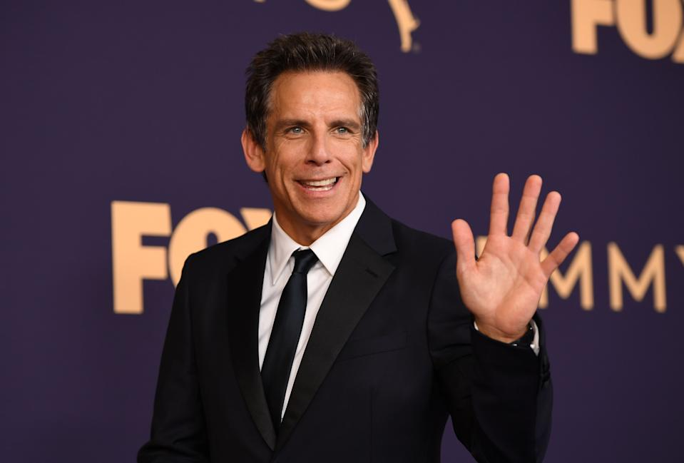 Actor Ben Stiller arrives for the 71st Emmy Awards at the Microsoft Theatre in Los Angeles on September 22, 2019. (Photo by Robyn Beck / AFP)        (Photo credit should read ROBYN BECK/AFP/Getty Images)