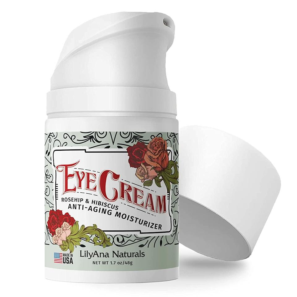 <p>The <span>LilyAna Naturals Eye Cream </span> ($30) is a nourishing eye cream that contains rosehip seed oil, hibiscus flower and rosemary leaf extract, and a powerhouse blend of vitamins like B5, E, and C. It's great for those who have sensitive skin. </p>