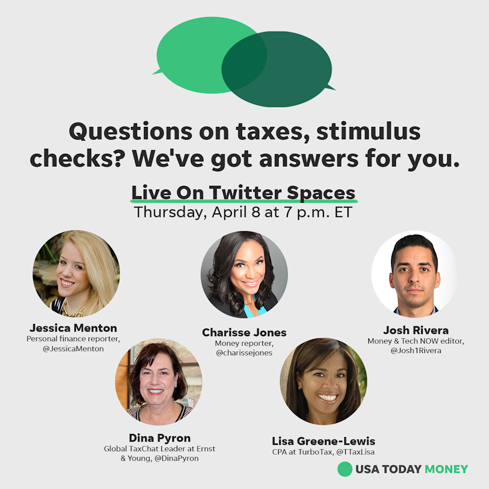 Join our experts for answers to your questions on taxes and stimulus checks!
