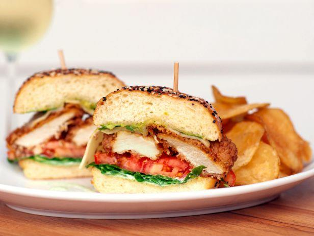 """<p><b>The Sandwich: Fried Chicken + Jack.</b><a href=""""http://www.ehsandwich.com/"""">East Hampton Sandwich Co.</a> founder & CEO Hunter Pond had a habit of bringing his Chick-fil-A sandwiches home to dress them up with whatever he could find in his refrigerator. This is how one of his top sellers — the Fried Chicken + Jack — was born. It combines the makings of a BLT with fried chicken, pepper Jack cheese, avocado mash spiked with lemon zest, and a zingy jalapeno cream sauce. The Dallas sandwich shop, now with four locations, is generous with its proteins; that's why you'll find customers opening wide to tackle a stack that includes two, sometimes three, lobes of fried chicken scaloppine. Try one anytime between 10:30 a.m. and 9 p.m.<i>(Photo courtesy of East Hampton Sandwich Co.)</i></p>"""