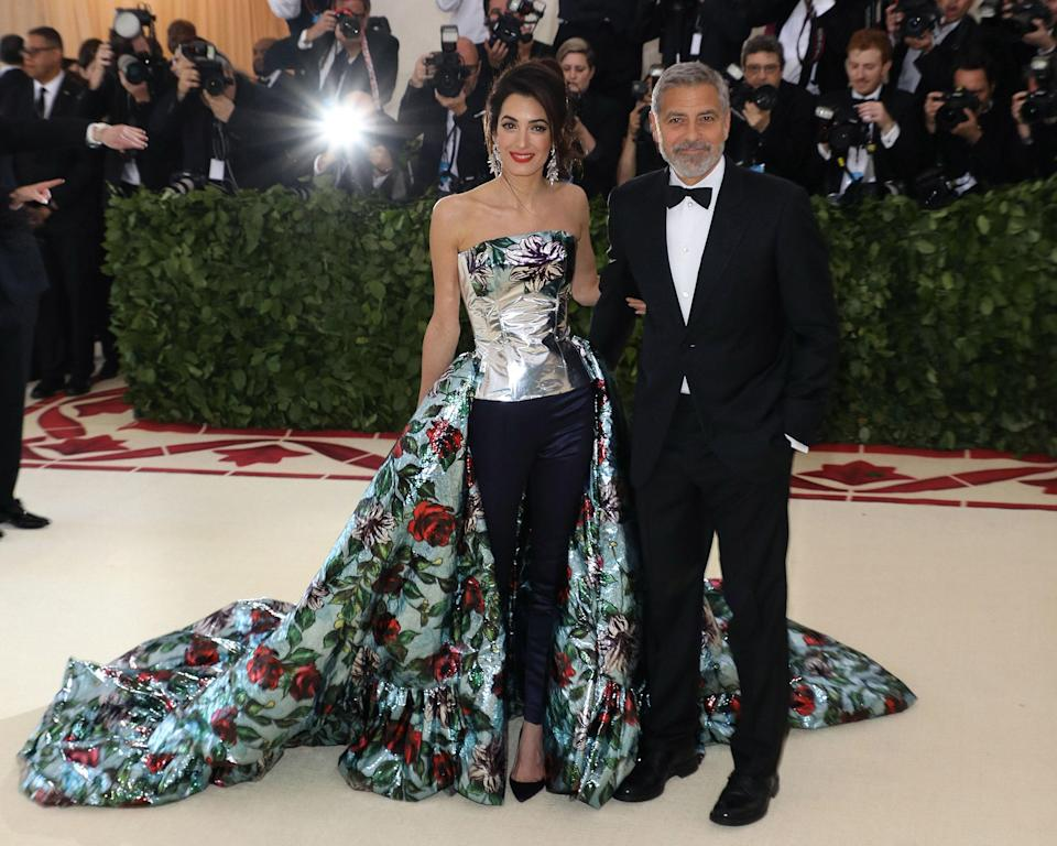 """<h1 class=""""title"""">Amal Clooney in Richard Quinn, 2018</h1><cite class=""""credit"""">Photo: Getty Images</cite>"""