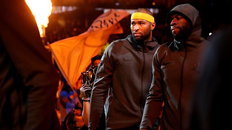 DeMarcus Cousins' ACL injury has Draymond Green 'at a loss for words'