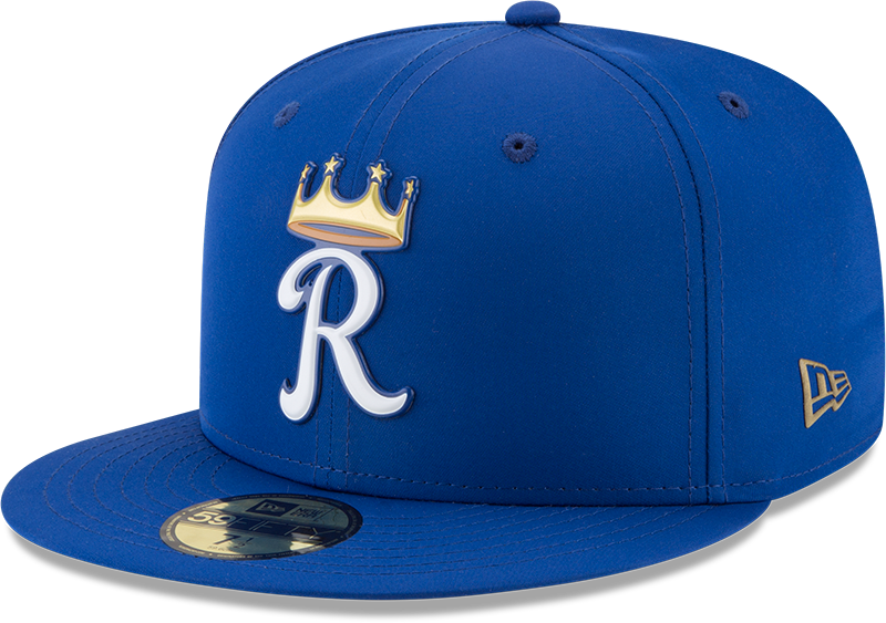 One of the alternate logo caps for the Royals. (New Era)