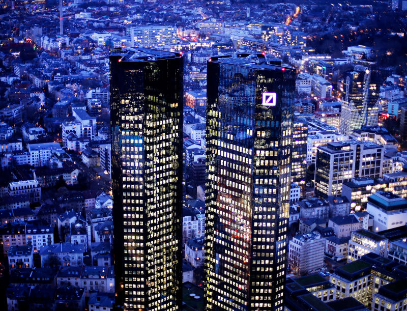 Troubled Deutsche Bank accelerates restructuring