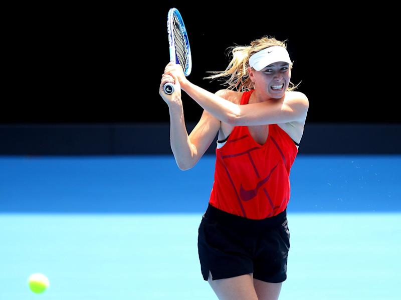 Sharapova's impending return to the Tour has proven controversial: Getty