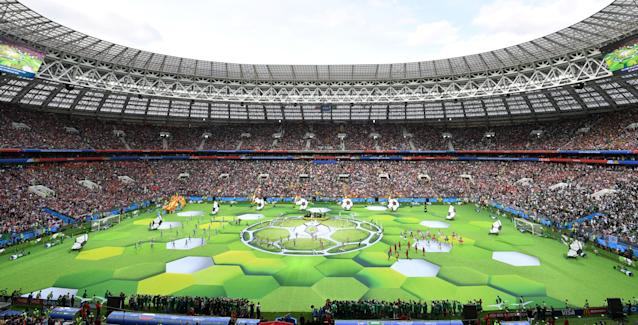 <p>World Cup opening ceremony (Getty) </p>
