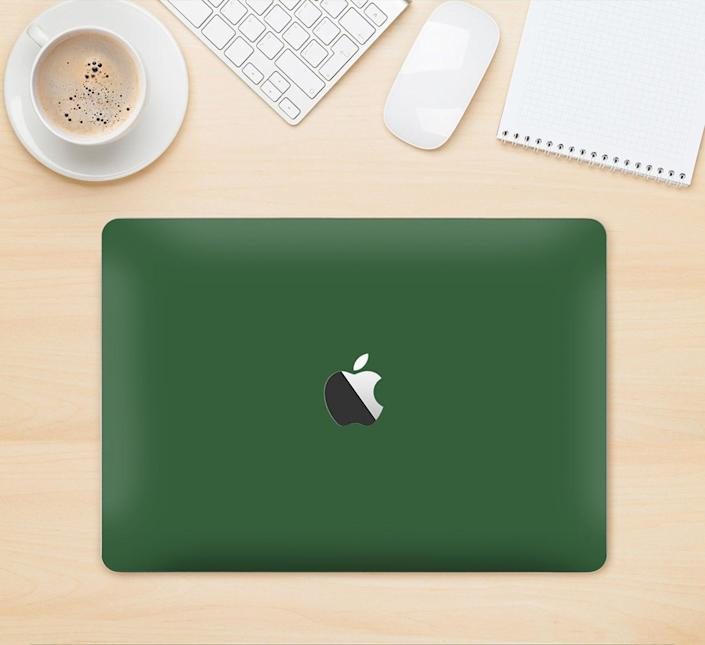 <p>Protect your laptop with this carefully designed <span>Apple MacBook Air Green Skin Kit With Retina Display</span> ($23 and up).</p>