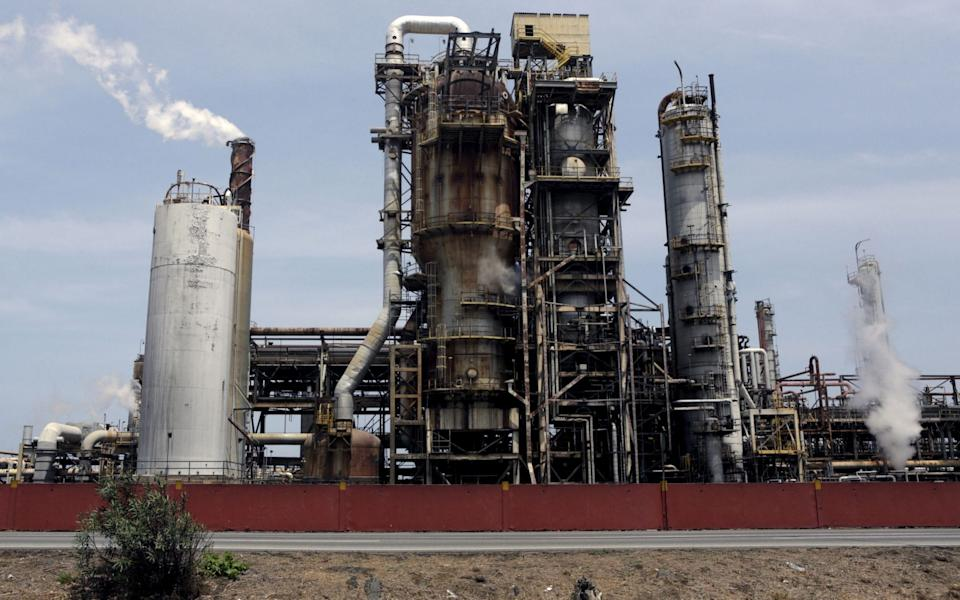 El Palito refinery that belongs to PDVSA in Puerto Cabello, in the state of Carabobo - Marco Bello/Reuters