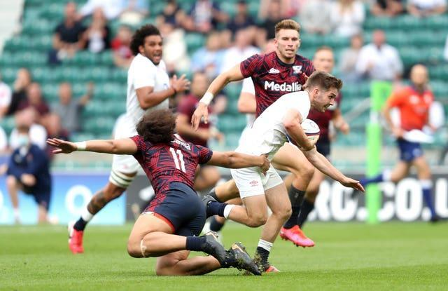 The United States suffered defeat to England last weekend