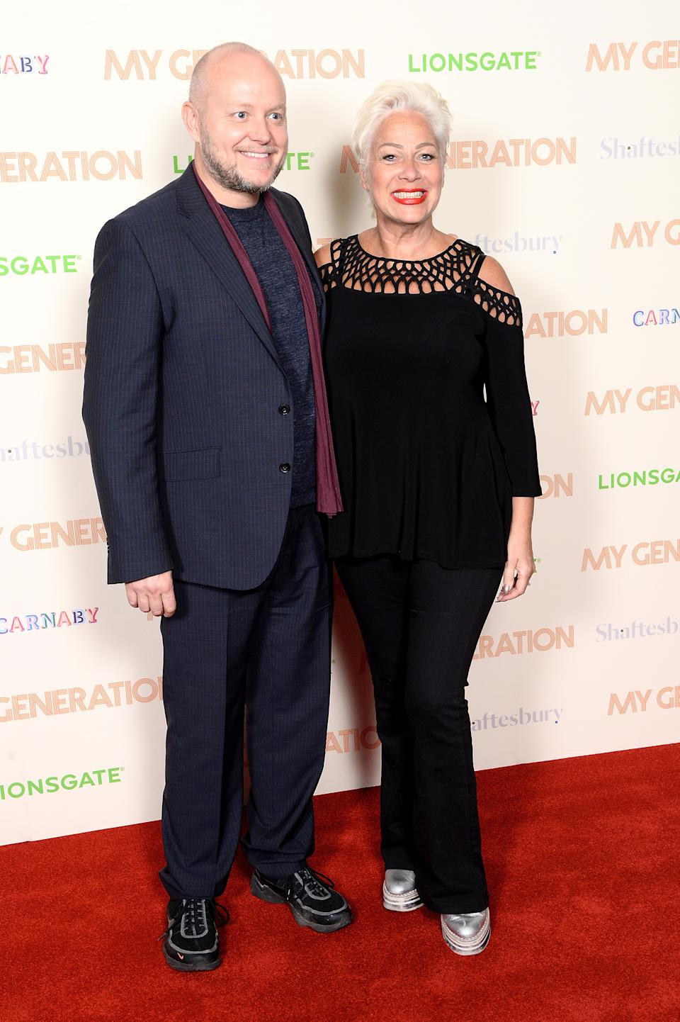Lincoln Townley (L) and Denise Welch attend the My Generation special screening at BFI Southbank on March 14, 2018 in London, England. (Photo by Dave J Hogan/Dave J Hogan/Getty Images)