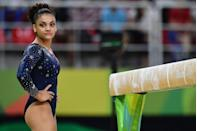 <p>Laurie Hernandez competed in her first Olympics in 2016 as a member of the team dubbed the Final Five. Hernandez ultimately took home a gold medal with her team. </p>