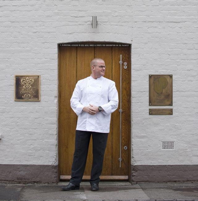 British Chef Heston Blumenthal of the Fat Duck