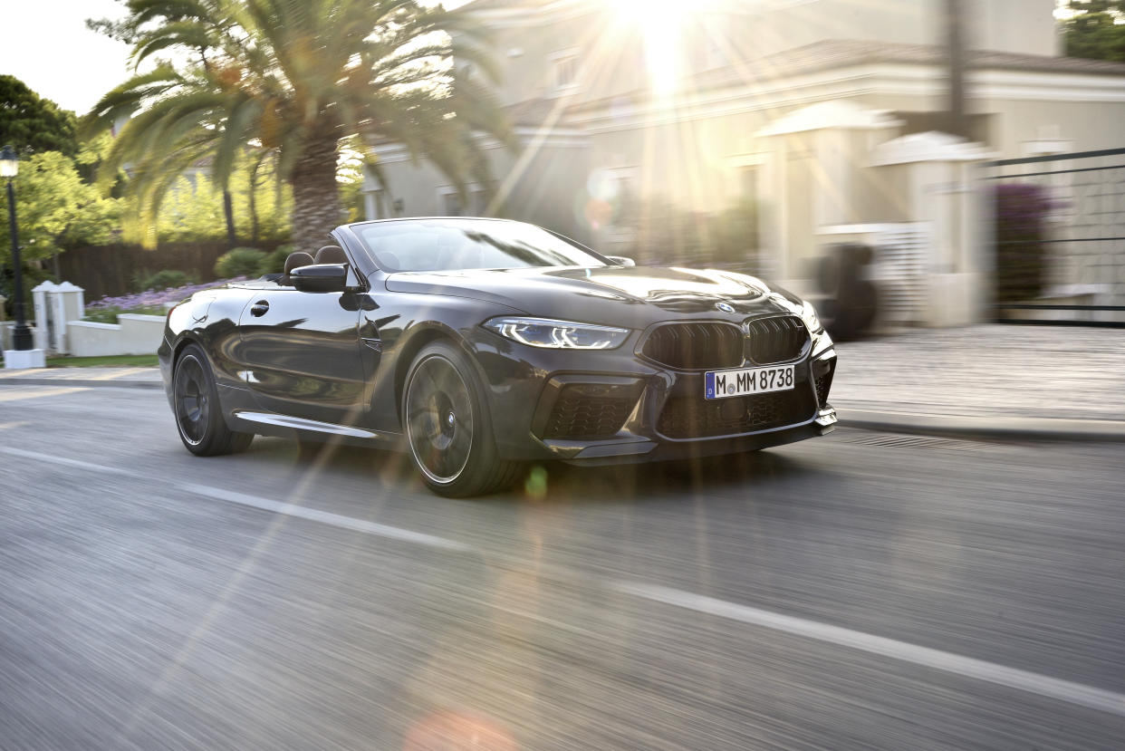 Reworked suspension gives the M8 an impressive ride
