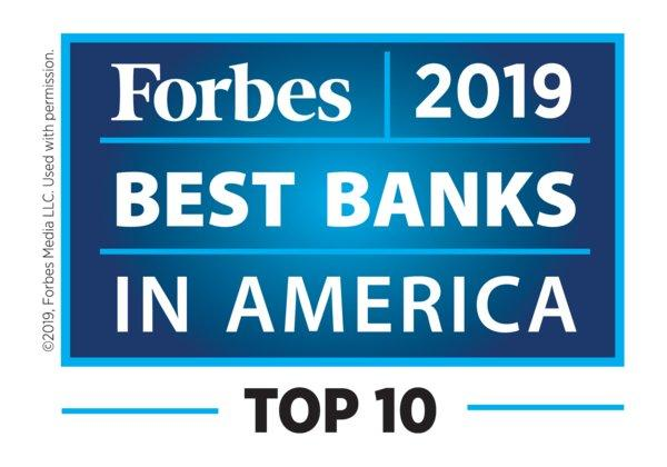 Cathay General Bancorp ranked Top 10 on Forbes'