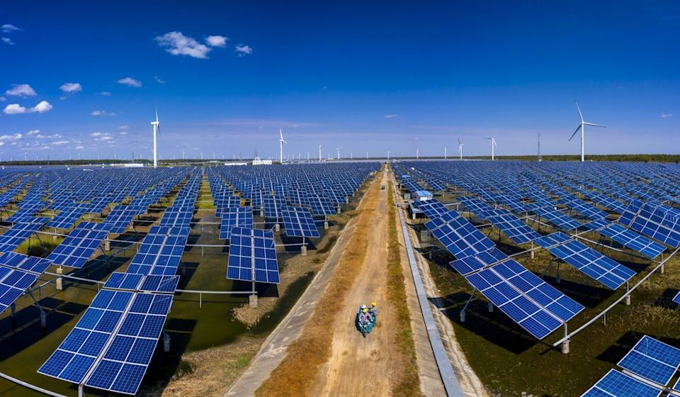 The plans are likely to include policies to improve the environment and develop clean energy. Photo EPA-EFE