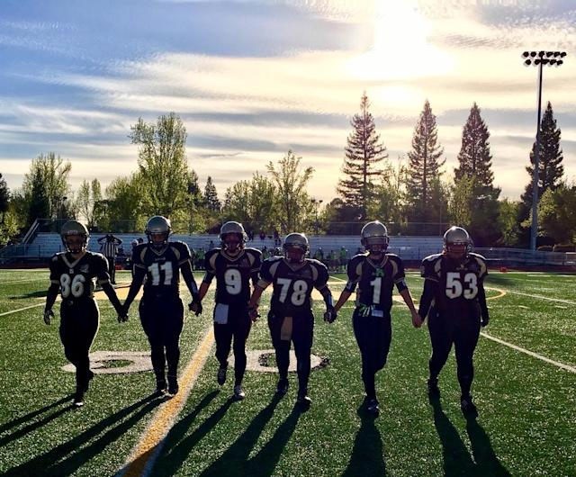 Female tackle football players shell out a couple thousand dollars per year, risk injury and sacrifice time with their families to play the sport they love. (Photo courtesy of Kaitlan Reiff)