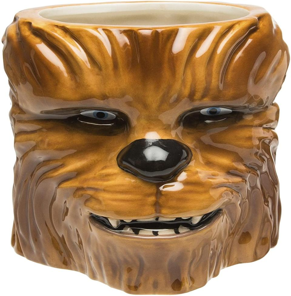 <p>This <span>Chewbacca Mug</span> ($14) is perfect for Chewy fans.</p>