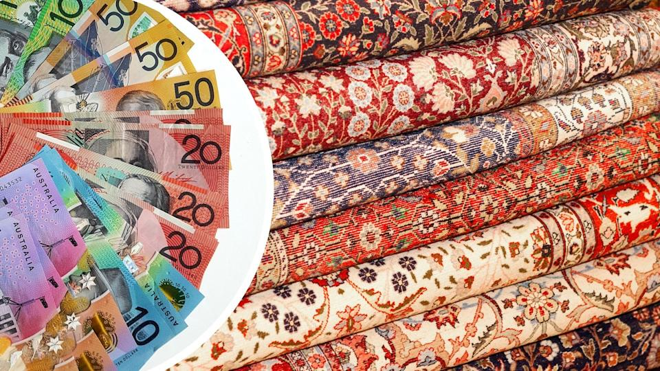 Australians will pay thousands for the new rugs. Images: Getty