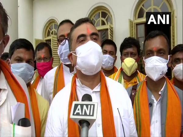 BJP MLA and Leader of Opposition in West Bengal Assembly Suvendu Adhikari (Photo/ANI)