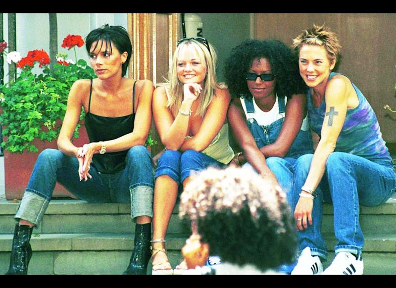<strong>2001</strong> The Spice Girls get back together to record at the famous Abbey road studios