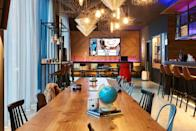 """<p>Industrial chic meets nautical is the theme at Southampton's <a href=""""https://go.redirectingat.com?id=127X1599956&url=https%3A%2F%2Fwww.booking.com%2Fhotel%2Fgb%2Fmoxy-southampton.en-gb.html%3Faid%3D2070929%26label%3Dhampshire-hotels&sref=https%3A%2F%2Fwww.redonline.co.uk%2Ftravel%2Fg37208550%2Fbest-hotels-hampshire%2F"""" rel=""""nofollow noopener"""" target=""""_blank"""" data-ylk=""""slk:Moxy"""" class=""""link rapid-noclick-resp"""">Moxy</a>. The cool Hampshire hotel, which is part of the experiential Marriott International brand, boasts a prime central location close to the Westquay Shopping Centre and the marina. As well as receiving a complimentary Moxy cocktail on arrival, you can enjoy the hotel's 24/7 self-service food and beverage concept.</p><p><a class=""""link rapid-noclick-resp"""" href=""""https://go.redirectingat.com?id=127X1599956&url=https%3A%2F%2Fwww.booking.com%2Fhotel%2Fgb%2Fmoxy-southampton.en-gb.html%3Faid%3D2070929%26label%3Dhampshire-hotels&sref=https%3A%2F%2Fwww.redonline.co.uk%2Ftravel%2Fg37208550%2Fbest-hotels-hampshire%2F"""" rel=""""nofollow noopener"""" target=""""_blank"""" data-ylk=""""slk:CHECK AVAILABILITY"""">CHECK AVAILABILITY</a></p>"""