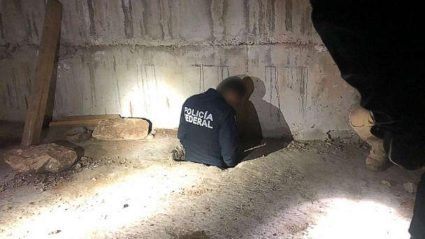 PHOTO: U.S. Border Patrol agents in southern Arizona coordinate with Mexican authorities to investigate an illegal tunnel burrowed under the U.S.-Mexico border. (U.S. Border Patrol)