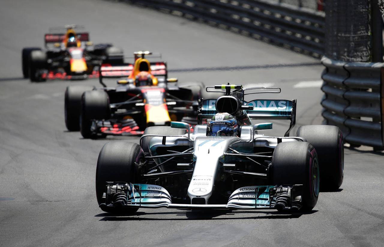 Formula One - F1 - Monaco Grand Prix 2017  - Circuit de Monaco, Monte Carlo  - 28/5/17Mercedes' Valtteri Bottas in action during the raceReuters / Max Rossi