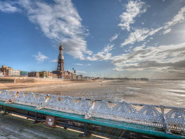 The famous Blackpool Tower (Getty Images/iStockphoto)