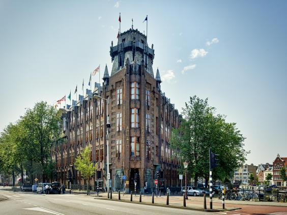 Grand Hotel Amrâth is housed in the former Scheepvaarthuis (Grand Hotel Amrâth)
