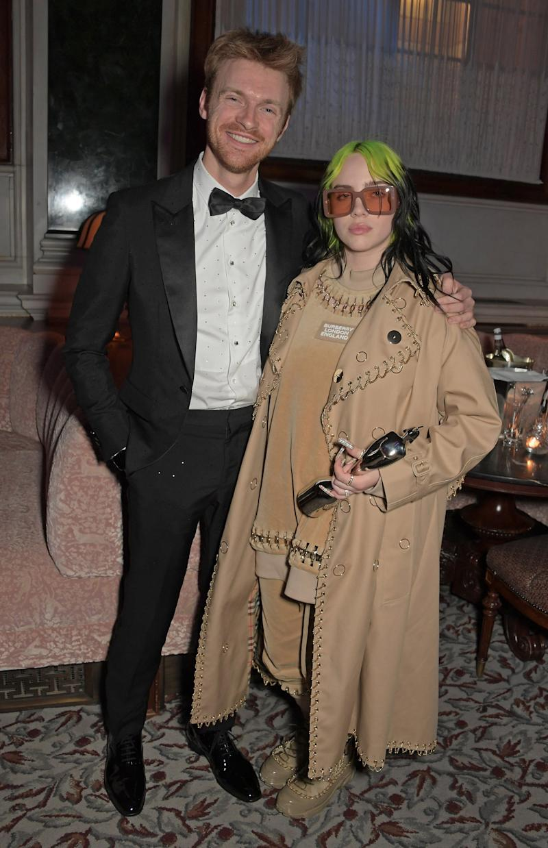 Billie Eilish and Finneas O'Connell (Dave Benett)
