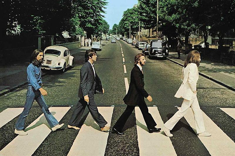 The Beatles' iconic 'Abbey Road' art. (Photo: Capitol Records)