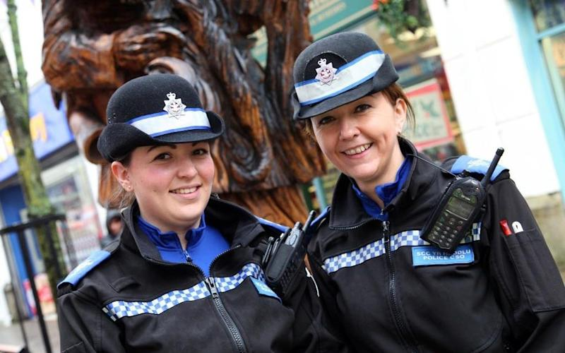 The uniform switch is one of 18 gender changes being brought in by Dyfed Powys Police  - Credit: Dyfed Powys Police