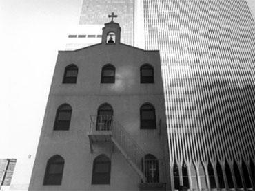 The St. Nicholas Greek Orthodox Church that stood near the base of the World Trade Center towers before it was destroyed in the Sept. 11 attacks. / Credit: AP/St. Nicholas Orthodox Church