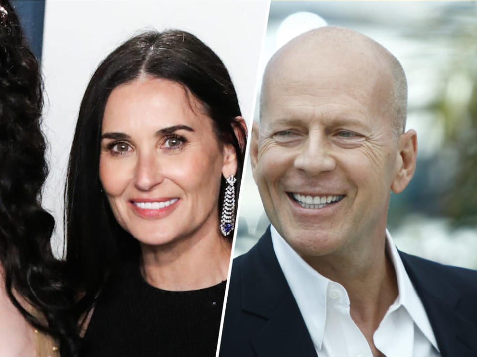 Bruce Willis und Demi Moore waren von 1987 bis 2000 verheiratet. (Bild: [M] Xavier Collin/Image Press Agency, PAN Photo Agency / Shutterstock.com)