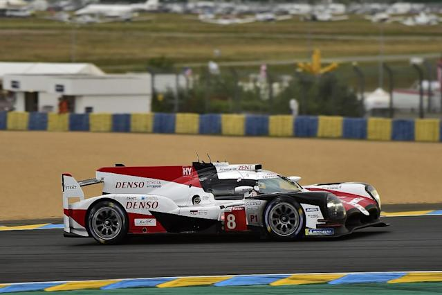 Toyota driver Fernando Alonso added to his Le Mans 24 Hours lead over the sister #7 car of Jose Maria Lopez in the 20th hour of the race