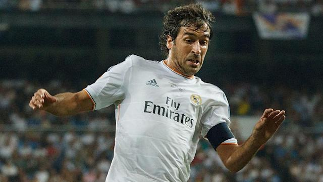 <p><strong>Number of games: 1043</strong></p> <br><p>Despite being best remembered for his time in the Spanish capital with Real Madrid, where he forged a reputation as one of the world's most prolific goalscorers, Raul managed to pick up over 200 club appearances during his post-Real career, where he featured for Schalke, Al Sadd and the New York Cosmos. </p>