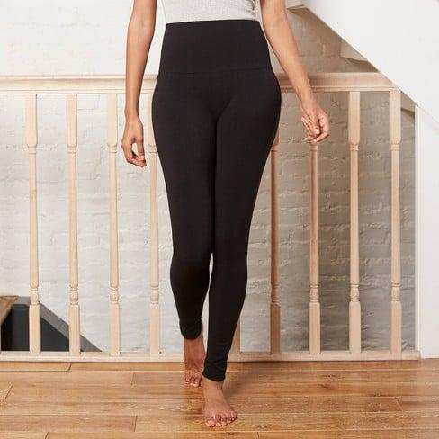 <p>Prioritizing warmth doesn't mean you need to sacrifice style. The <span>Target Seamless High-Waist Fleece-Lined Leggings</span> ($18) would look stylish paired with a graphic tee and an oversized denim jacket.</p>
