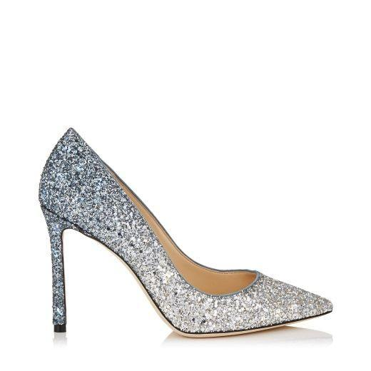 """<p>jimmychoo.com</p><p><strong>$750.00</strong></p><p><a href=""""https://go.redirectingat.com?id=74968X1596630&url=https%3A%2F%2Fus.jimmychoo.com%2Fen%2Fwomen%2Fshoes%2Fpumps%2Fromy-100%2Fsilver-and-dusk-blue-fireball-glitter-d%25C3%25A9grad%25C3%25A9-fabric-pointy-toe-pumps-ROMY100BRE0C6079.html&sref=https%3A%2F%2Fwww.townandcountrymag.com%2Fstyle%2Ffashion-trends%2Fg10344923%2Fkate-middleton-favorite-fashion-brands-designers%2F"""" rel=""""nofollow noopener"""" target=""""_blank"""" data-ylk=""""slk:Shop Now"""" class=""""link rapid-noclick-resp"""">Shop Now</a></p><p>The royal usually pairs her floor-length gowns with metallic Jimmy Choo sandals.</p>"""