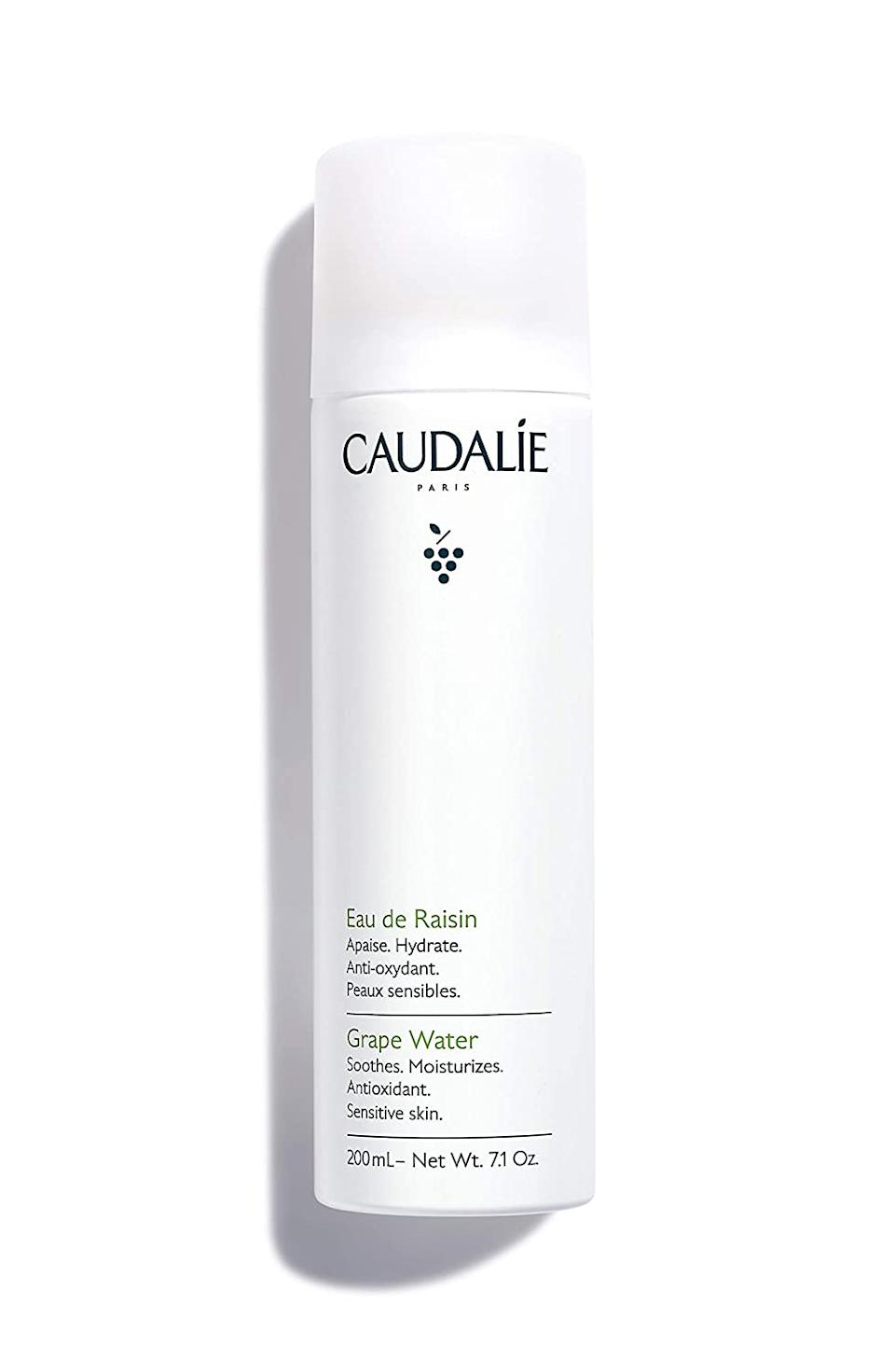 Finally, Caudalie...the wake-up spritz your face has been waiting for. (Photo: Amazon)