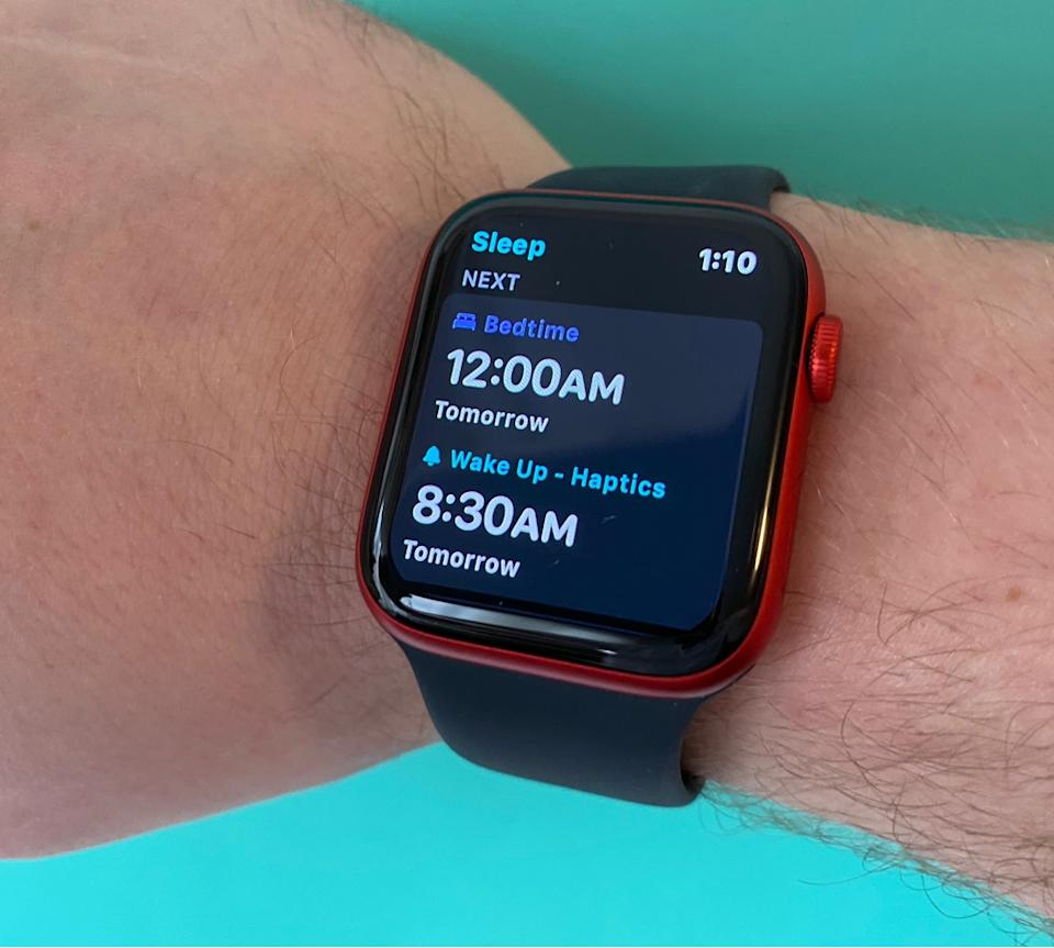 The Apple Watch's sleep-tracking functionality is helpful for determining how well you sleep each night. (Image: Howley)