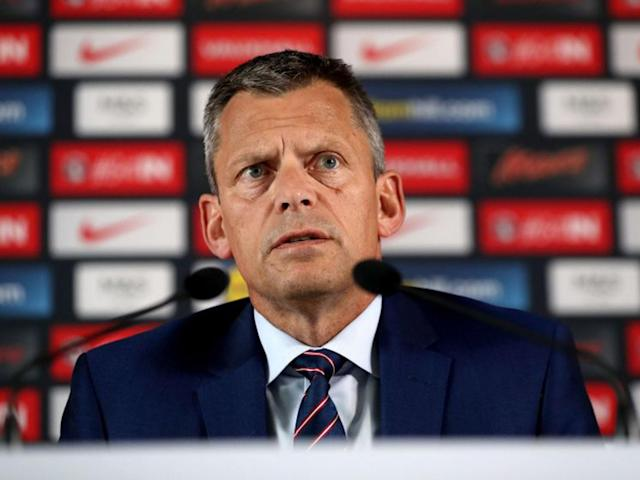 Mark Sampson: Martin Glenn deliberately chose black woman to investigate former England manager