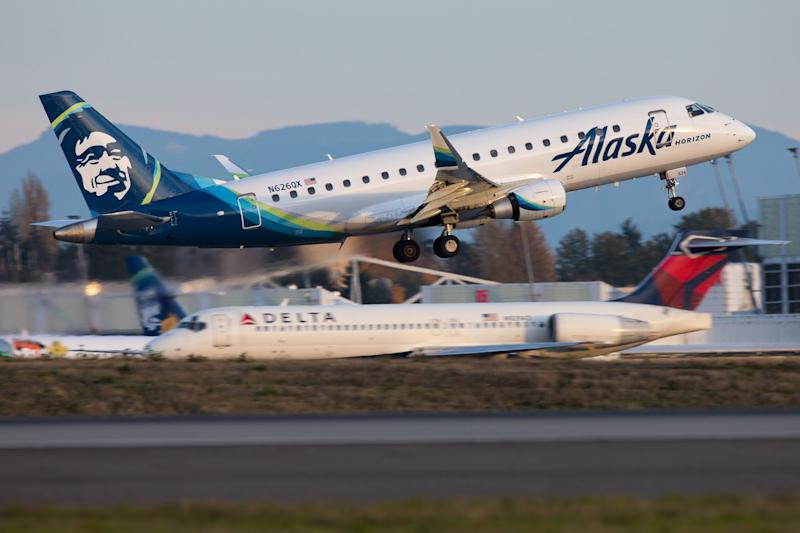Reports: Alaska Airlines flight forced to land early after 'belligerent' passenger lights cigarette