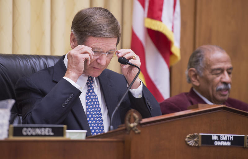 The expected EPA proposal builds on the work Rep. Lamar Smith (R-Texas) has done to politicize science during his tenure as chairman of the House Science Committee.  (Tom Williams via Getty Images)